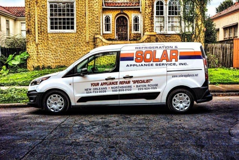 solar appliance services