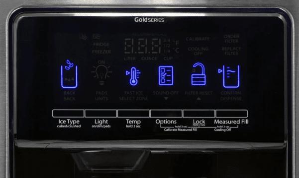 whirlpool refrigerator error codes