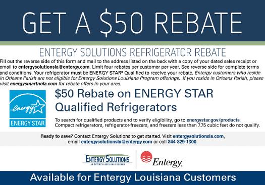 rebate for energy efficient refrigerator