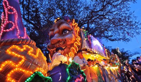 mardi gras 2020 parade schedule