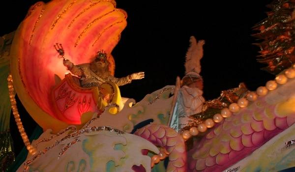 mardi gras parade route