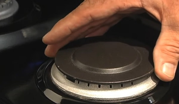 gas stove won't stop clicking when off